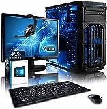 """Vibox Extreme Pacchetto 6 Gaming PC con Gioco War Thunder, 21.5"""" HD Monitor, 4.2GHz AMD FX Quad Core Processore, nVidia GeForce GTX 960 Scheda Grafica, 1TB HDD, 8GB RAM, Case Tactician, Neon Blu"""