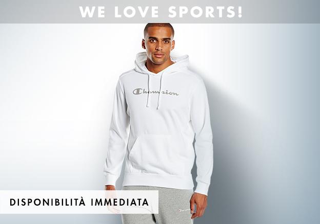 We love sports! | Moda italiana e del design di marca