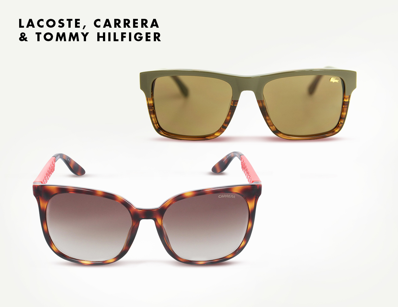 d13ce19919 MASM: Rebajas gafas Lacoste, Carrera & Tommy Hilfiger hasta el viernes 9